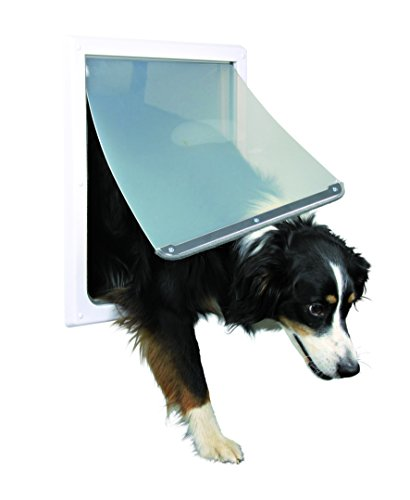 Trixie Pet Products 2-Wege-Verriegelungstür, Medium - Extra Large, weiß