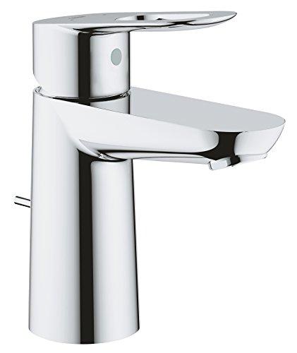 GROHE BauLoop | Badarmaturen - Einhand-Waschtischbatterie, DN 15 S-Size | chrom | 23335000
