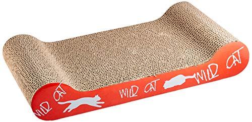Trixie 48000 Kratzpappe Wild Cat, 41 × 7 × 24 cm, farblich sortiert