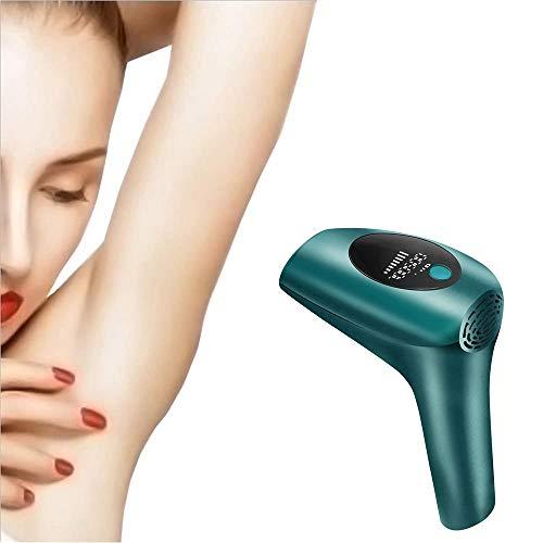 SSCYHT Laser-Haarentfernung 900.000 Blitze Permanente IPL-Haarentfernung für den Heimgebrauch Schmerzloser Haarentferner für Frauen und Männer Lippen Arm Achsel Bein Scham,Dark Green