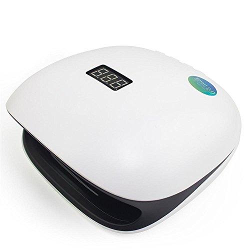 KDLD LED-Nageltrockner ® 48 Watt UV-LED-Lampe Gel Nagel Trockner Maniküre / Pediküre Gelpoliermittel Heilung Maschine für Nail art zu Hause und intelligente Timing-Sensor 36 LED Nagel Lampen