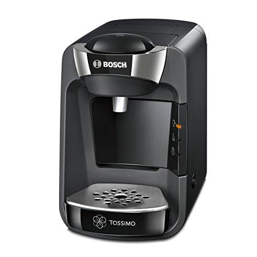 Bosch TAS3202 Tassimo Suny Kapselmaschine, über 70 Getränke, vollautomatisch, geeignet für alle Tassen, nahezu keine Aufheizzeit, 1300 W, creme