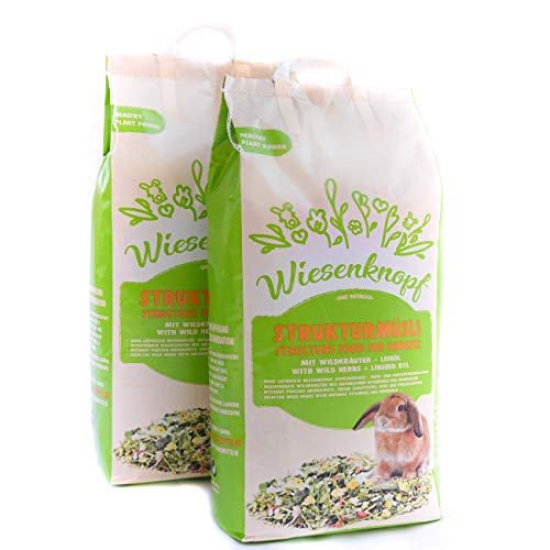 Wiesenknopf Kaninchenfutter Strukturfutter 15kg