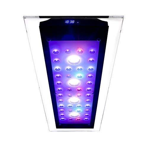 Esmart Germany Sea Nemo Glass 3-220 Watt Aquariumbeleuchtung Für Meerwasser   Programmierbar   Inkl. Kühlung   Aquarium Beleuchtung Aquarium Leuchte Aquarium Lampe