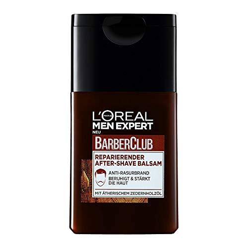 L'Oréal Paris Men Expert After Shave Balsam gegen Rasurbrand, Rötungen und Hautirritationen, Barber Club, 1 x 125 ml