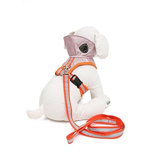 Puppy Angel Welpen-Engels-Jogging Hundesoftgeschirr Geschirr für Hunde pink XL