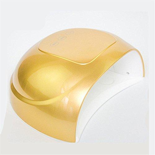 KDLD LED-Nageltrockner ® 36 Watt LED / UV Nagel Lampe 100-240 V Nagel Trockner mit 30 S, 60 S, Timer für Fingernagel & Zehennagel Gel Aushärtemaschine
