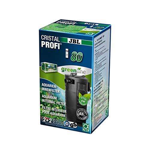 JBL CristalProf i80 greenline Energieeffizienter Innenfilter für Aquarien mit 60-110 L, 6097200