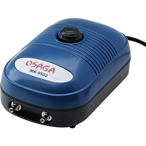 Durchlüfterpumpe MK 9502 5 Watt ,regelbar! - 2 Ausgang! 4/6mm , 7,2 l/min 432 l/h