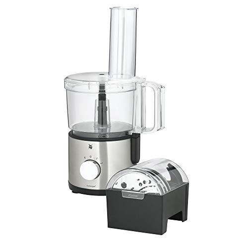WMF Kult X Edition Küchenmaschine, mit 5 Zubehör-Scheiben, Knetmesser, Stopfen, Edelstahl-Messer, Behälter 2,0l, 500 W