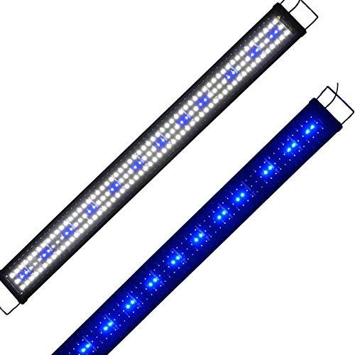 Lumiereholic Aquarium Beleuchtung LED Fische Tank Beleuchtung Aufsetzleuchte Lampe (45CM)