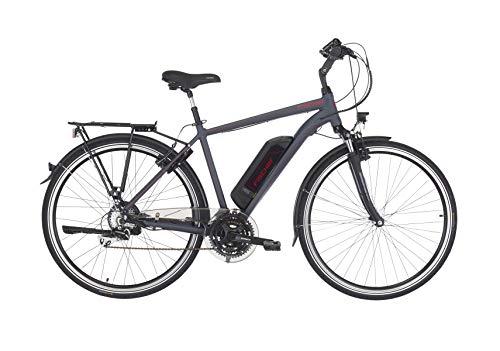 FISCHER Herren - E-Bike Trekking ETH 1806 (2019), anthrazit matt, 28', RH 50 cm, Hinterradmotor 45 Nm, 48V Akku