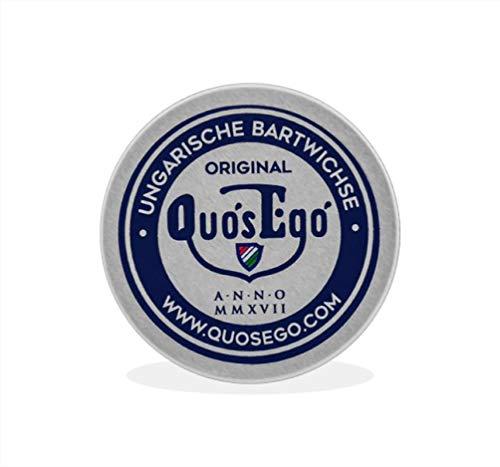 Quos Ego Ungarische Bartwichse, Moustache Wax zum Stylen und Zwirbeln vom Schnurrbart 25ml