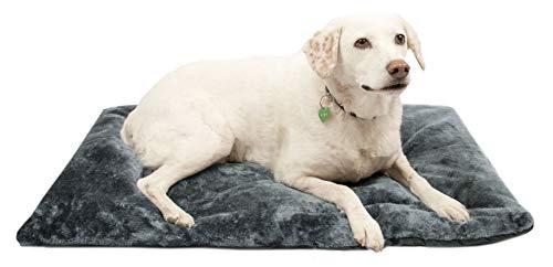 ZOLLNER Hundebett Hundekissen 60x90 cm, waschbar, tragbar, grau