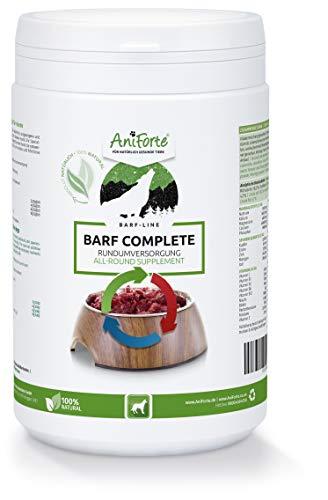 AniForte Barf Complete Pulver für Hunde 500 g - 100% Natur Rundumversorgung - Natürlich, Artgerecht & Ausgewogen, Hochwertiger Zusatz beim Barfen, Reich an Mineralstoffen, Vitaminen & Wohlbefinden