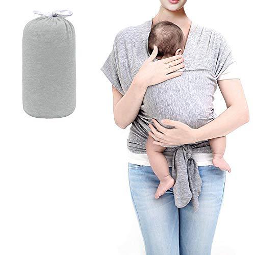 HyAdierTech Babytragetücher Kindertragetuch Baby Bauchtrage Sling Tragetuch, Tragetuch Baby elastisch für Neugeborene und Kleinkinder für Baby Neugeborene Innerhalb 16 KG (A) (B)
