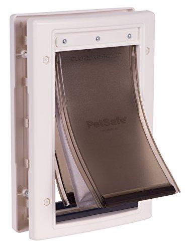 PetSafe Haustiertür für extreme klimatische Bedingungen, einfach zu installieren, isolierend, wetterfest, energieeffizient, Dreifacher Schutz gegen Kälte und Hitze System, Klein