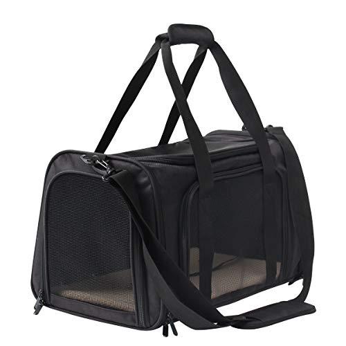 Display4top Faltbare Transporttasche für Haustiere,Hundetragetasche,Katzentragetasche mit Schultergurt