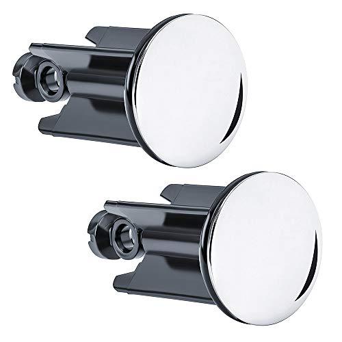 IWILCS 2 Stücke Waschbeckenstöpsel, Abflussstopfen Stöpsel, Badewannenstöpsel, Abflussstopfen, für Waschbecken im Bad und Bidets und handelsüblichen Waschbecken
