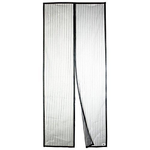 Apalus Magnet Fliegengitter Tür Insektenschutz 92x212 cm, Der Magnetvorhang ist Ideal für die Balkontür, Kellertür Und Terrassentür, Kinderleichte Klebemontage Ohne Bohren (Nicht Kürzbar)