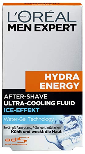 L'Oréal Paris Men Expert Hydra Energy After Shave Fluid, 100 ml