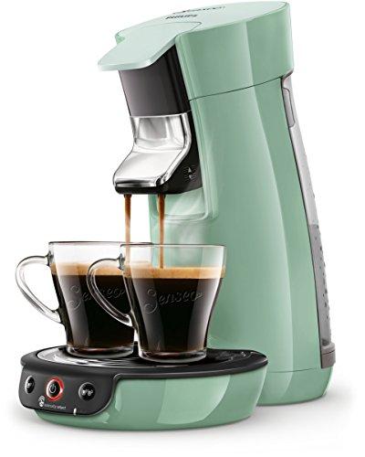 Philips Senseo Viva Cafe HD6563/10 Kaffeepadmaschine (Crema plus, Kaffee-Stärkeeinstellung) grün