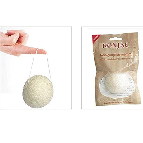 Solida Konjac-Schwamm Reines Naturprodukt zur Haut- & Gesichtspflege