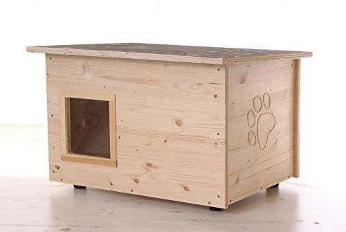 running rabbit gmbh Katzenhaus - Katzenhütte (Boden und Wände wärmegedämmt)