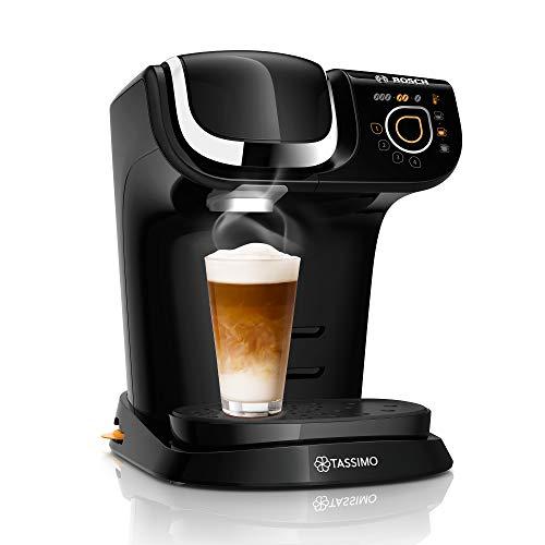 Tassimo My Way 2 Kapselmaschine TAS6502 Kaffeemaschine by Bosch, mit Wasserfilter, über 70 Getränke, Personalisierung, vollautomatisch, einfache Zubereitung, 1.500 Watt, 1,3 Liter, schwarz