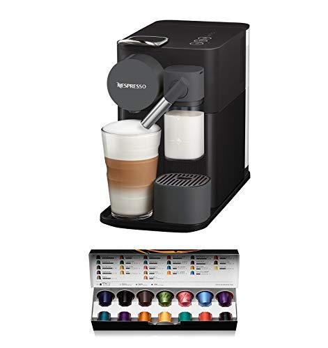 De'Longhi Nespresso EN 500.B Kaffeekapselmaschine Lattissima One, Kunststoff, 1 L, Schwarz