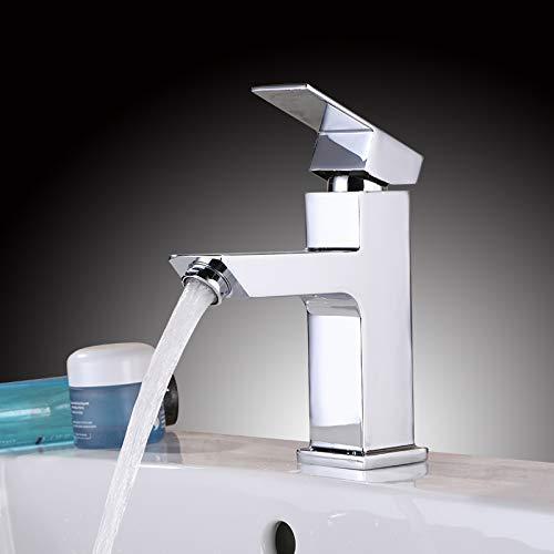 Homelody Waschbecken Armatur Bad Wasserhahn Waschtisch Mischbatterie Badarmatur Waschbeckenamatur Einhebelmischer Waschtischmischer Waschtischarmatur Chrom