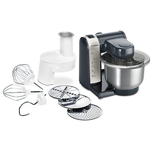 Bosch MUM48A1 Küchenmaschine, Kunststoff, 3.9 liters, schwarz