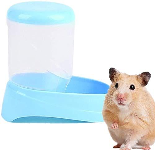 YYhkeby Haustier-Zufuhr Hamsterfutter Spender Pet Futterschalen Lebensmittel-Dispenser Hamster Kleintier-Zufuhr Rabbit Food Bowl Hamsterkäfig Schüssel blau Jialele (Color : Blue)