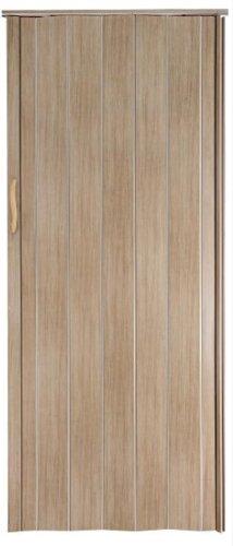 Falttür Schiebetür Tür Sonoma Eiche hell farben Höhe 202 cm Einbaubreite bis 85 cm Doppelwandprofil Neu