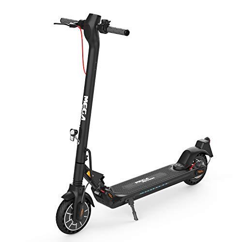 E-Scooter (ABE) mit Straßenzulassung (eKFV) Klappbar Elektroroller Scooter Geschwindigkeit Erwachsene bis 30 Km/h 8.5 Zoll aufblasbares LCD-Display Tragbar Vorderen und Hinteren Rückleuchten (schwarz)