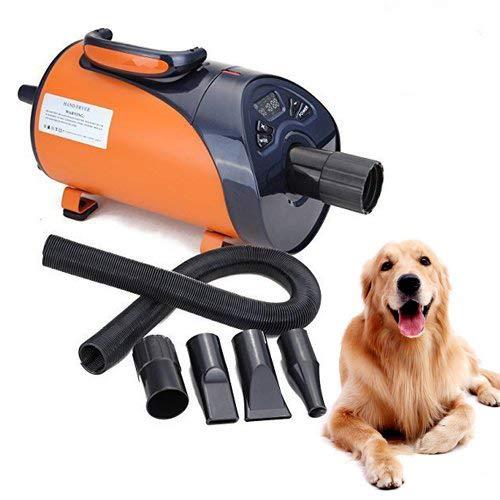 Ridgeyard Hundepflege Haartrockner Pet Trockner Low Noise Led Display 8 Stufen Geschwindigkeit 2800W