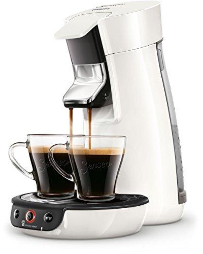 Philips Senseo Viva Cafe HD6563/00 Kaffeepadmaschine (Crema plus, Kaffee-Stärkeeinstellung) weiß
