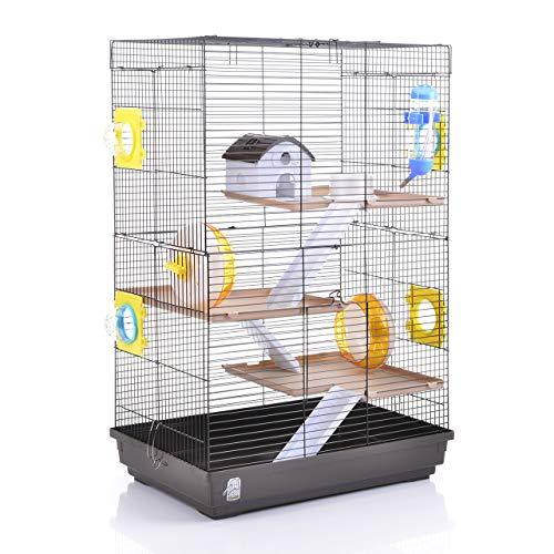 Wagner Cages  | Hamsterkäfig Lenzkirch Käfig für Hamster mit sehr viel Zubehör, Mehrstöckig