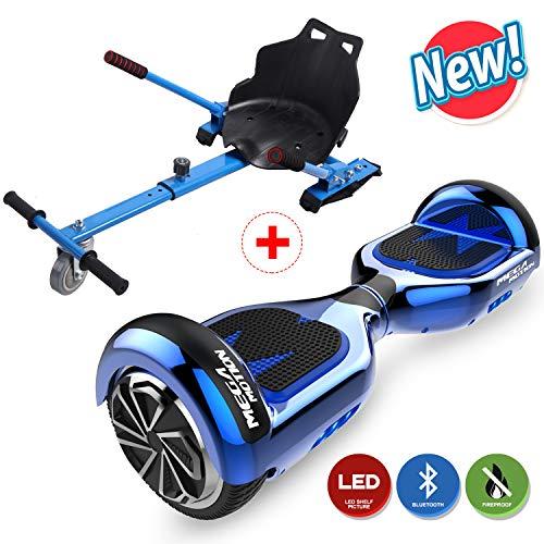 HITWAY Hover Scooter Board 6,5 Zoll Elektro Scooter Hoverboards Self Balance Board E Skateboard 350W*2 Motor mit Hoverkart für Kinder und Jugendliche