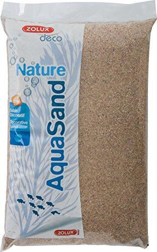 Zolux Kies Natur für Aquarium Sand-Fluss von 1bis 4mm Korngrösse–5kg