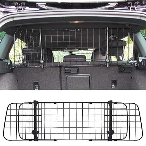 JOM 127485 Gepäckraumgitter Kofferraum Universal Trenngitter für Hunde Auto, SUV Schutzgitter Hundegitter für den sicheren Transport