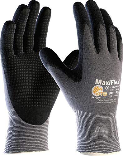 1 Paar MaxiFlex Plus Montagehandschuhe mit Noppen, Arbeitshandschuhe, Handschuhe Endurance (XL)