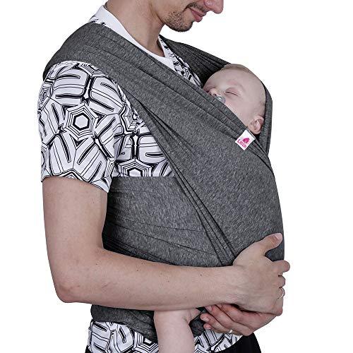 Lictin Babytragetuch Kindertragetuch Babybauchtrage Sling Elastisches Tragetuch für Baby Neugeborene Innerhalb 16 KG