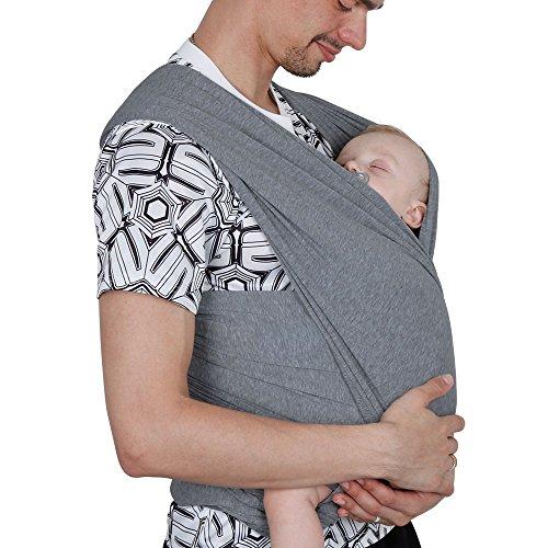 Lictin Babytragetuch Kindertragetuch Babybauchtrage Sling Tragetuch für Baby Neugeborene Innerhalb 16 KG