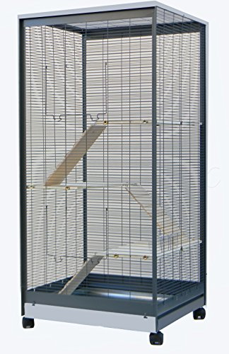 Nagervoliere Käfig für Ratten Chinchilla Degus Frettchen Voliere Top Qualität !