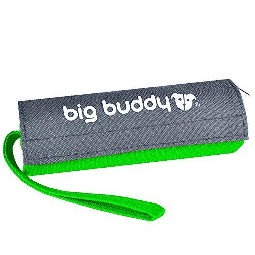 big buddy ORIGINAL Futterdummy Trainingsdummy Hunde Leckerliebeutel Futterbeutel Apportiertasche Dummy (Einzelpack, Grün)