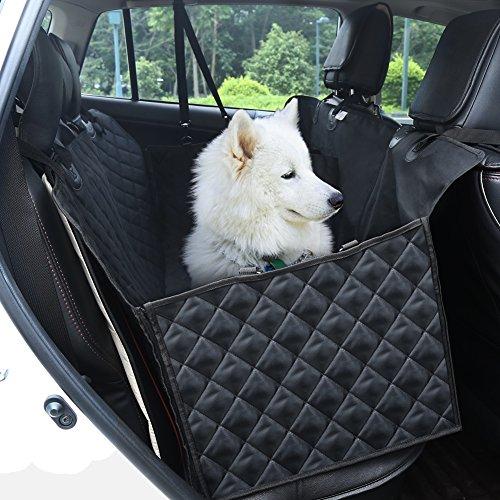 YOHOOLYO Autoschondecke Wasserdicht Auto Hundedecke Autorücksitz für Hunde Rücksitz Schützt Ihr Auto vor Schmutz (Verpackung MEHRWEG)