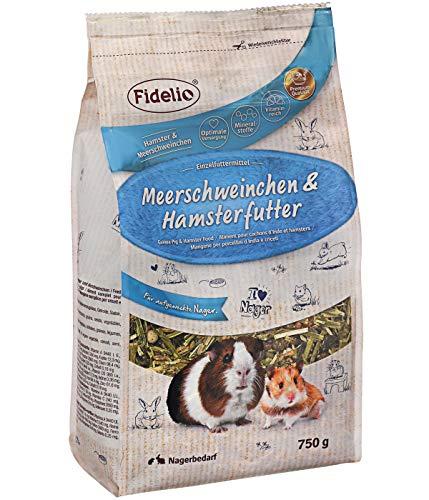 Fidelio Nagerfutter, Meerschweinchen und Hamsterfutter, 750 g