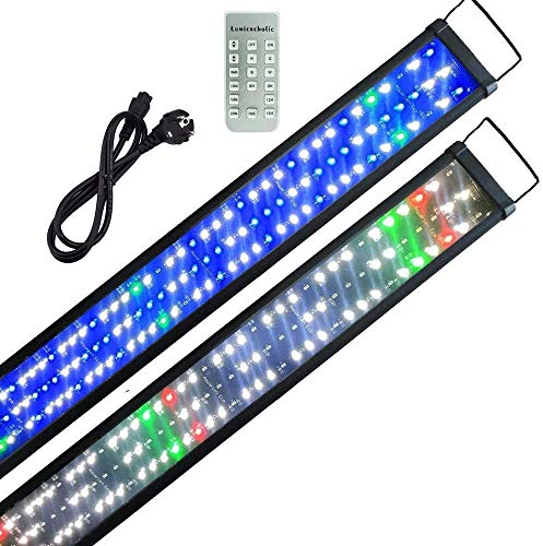 Powerdelux Aquarium Beleuchtung LED mit Timer,SMD5730 LED Beleuchtung Lampe mit 9 Modi