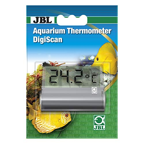 JBL 6122000 DigiScan Aquarium Thermometer, Grau